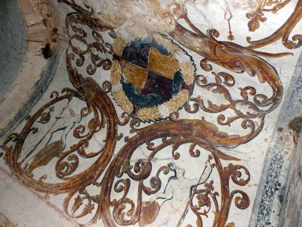Fig. 4. Peintures murales du bâtiment dit de la Recette.
