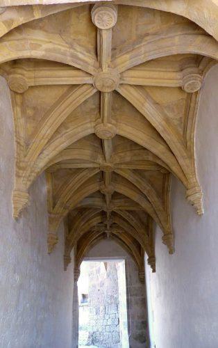 Fig.8. Voûtement de l'escalier d'honneur des années 1510-1520