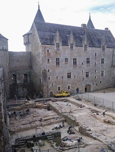 Vue d'ensemble du chantier archéologique (juillet 2015) (cl. K. Vincent).