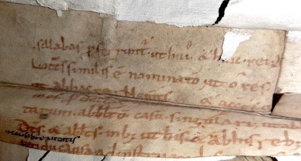 Avranches BM 97. Fragment de Priscien