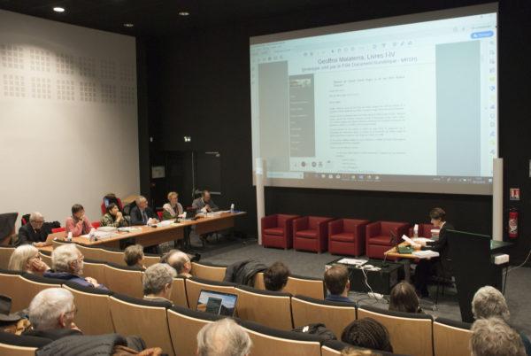 Soutenance d'ahbilitation à diriger des recherches de M.A. Lucas-Avenel (Caen, 6 décembre 2019)